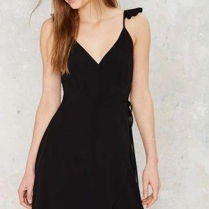 Cute Factor Wrap Dress